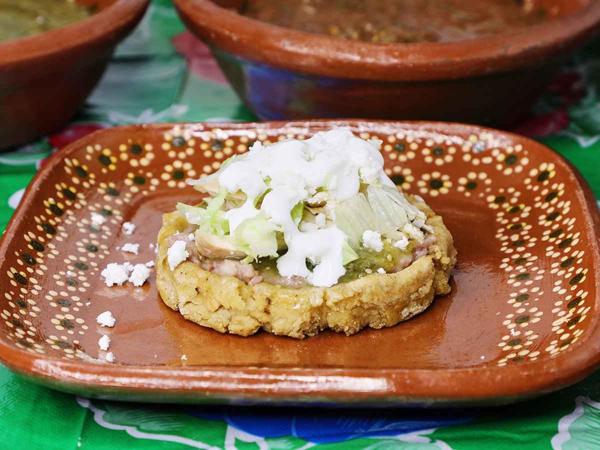 Chicken Sope with Salsa Verde