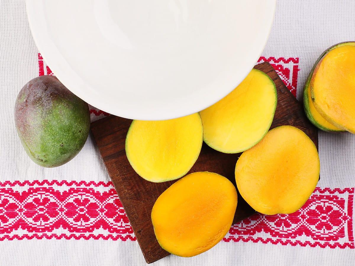 Mango Halves