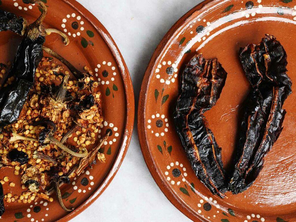 Deveined Dried Chilis