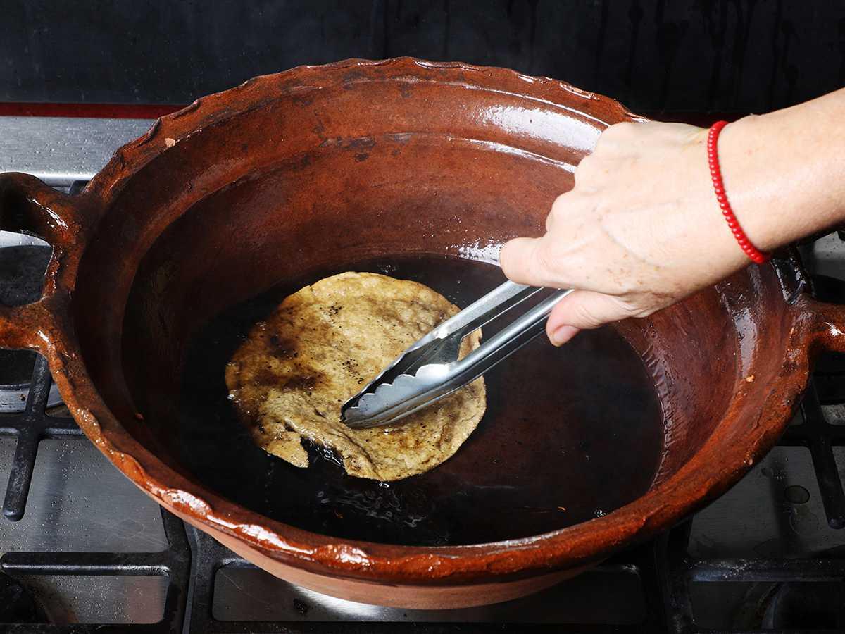 Frying Tortilla