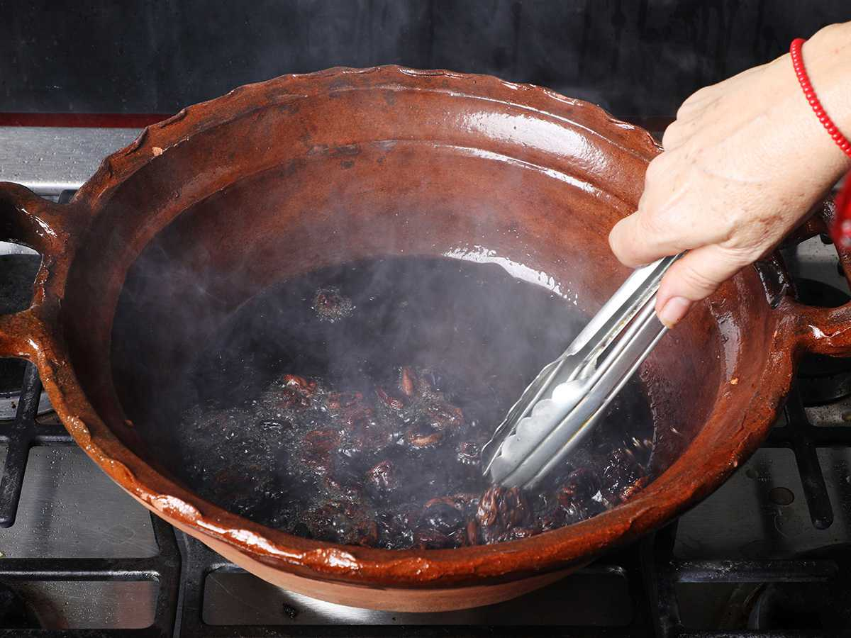 Frying Raisins