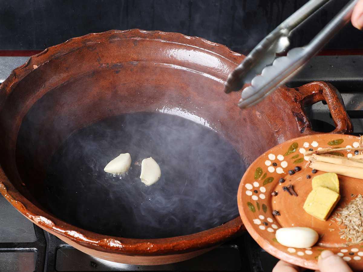 Frying Garlic