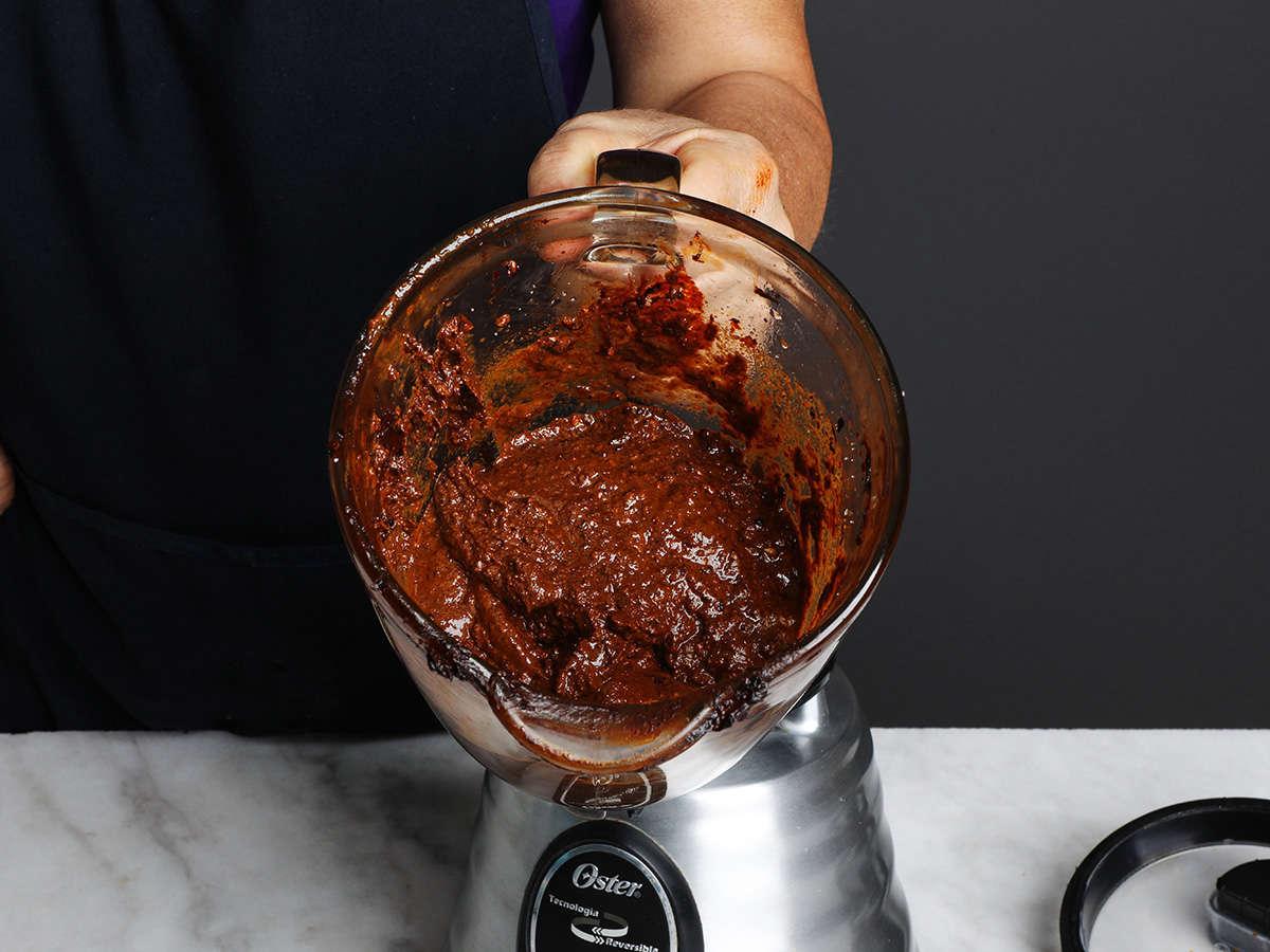 Mole Paste in Blender