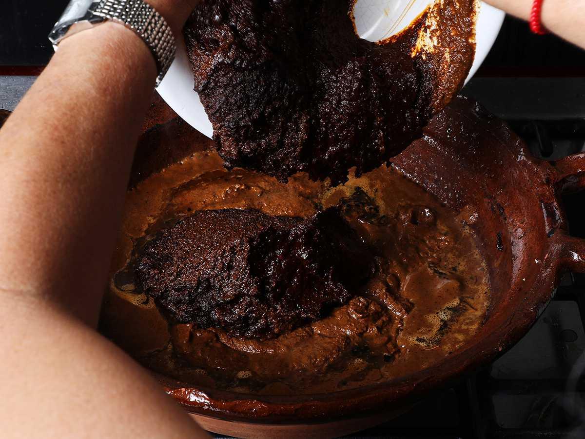 Mole Paste in Clay Pot