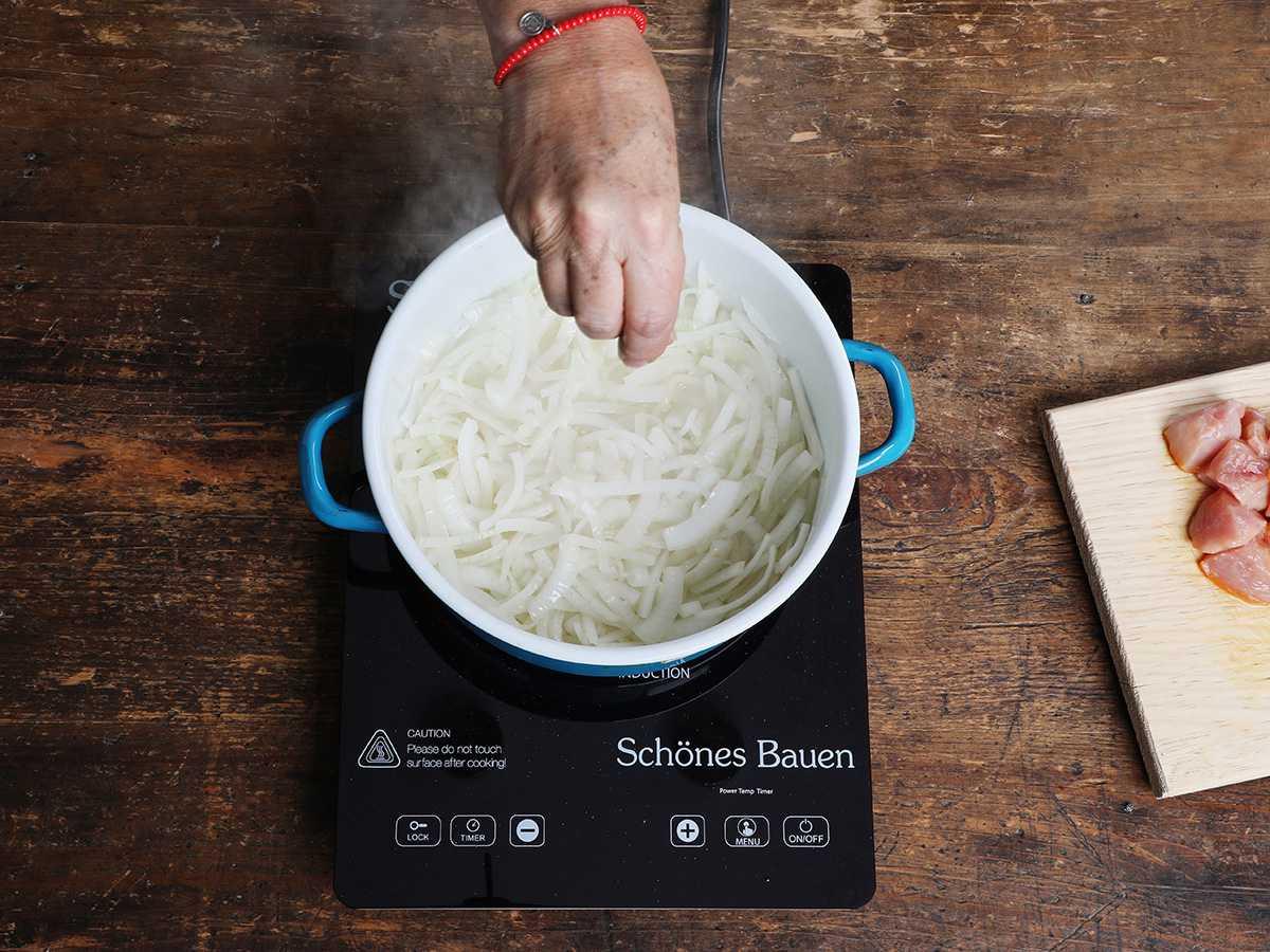 Adding Salt to Onions