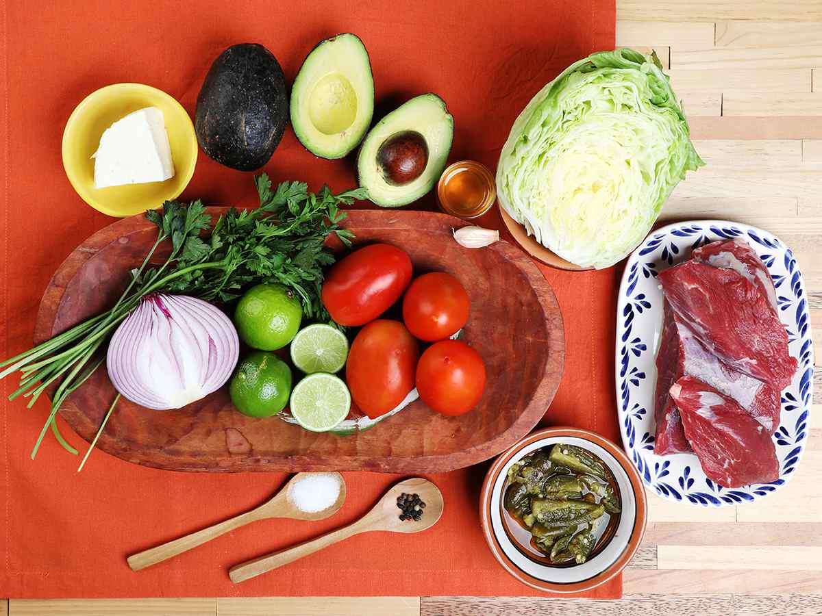 Beef Salpicón Ingredients