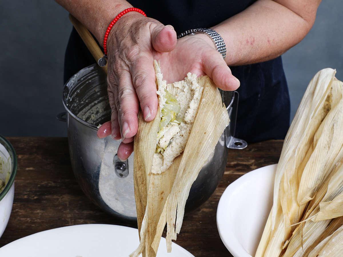 Folding Tamale