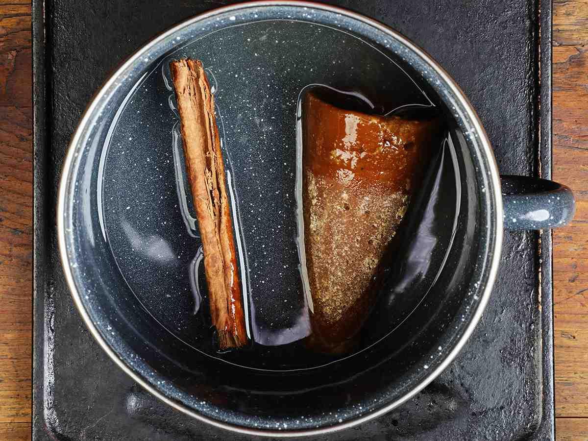 Cinnamon Stick and Piloncillo