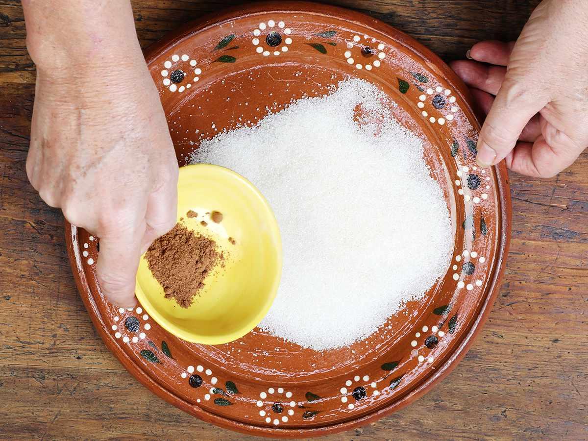 Cinnamon Sugar in Plate