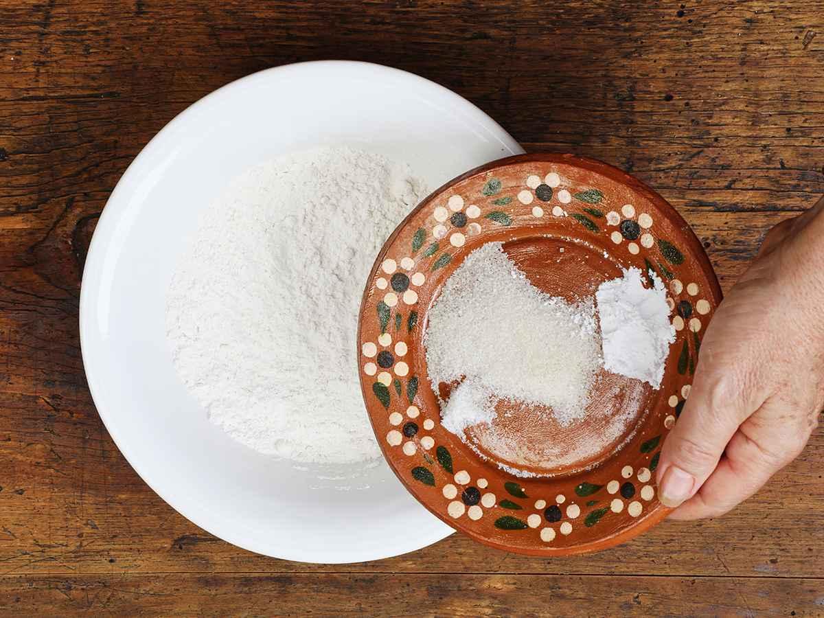 Buñuelo Dry Ingredients