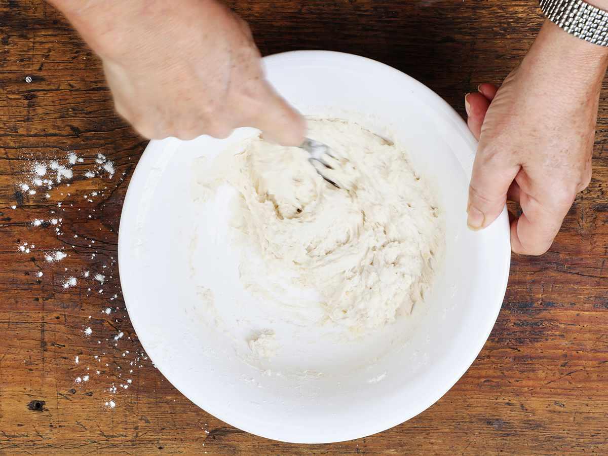 Making Buñuelo Dough
