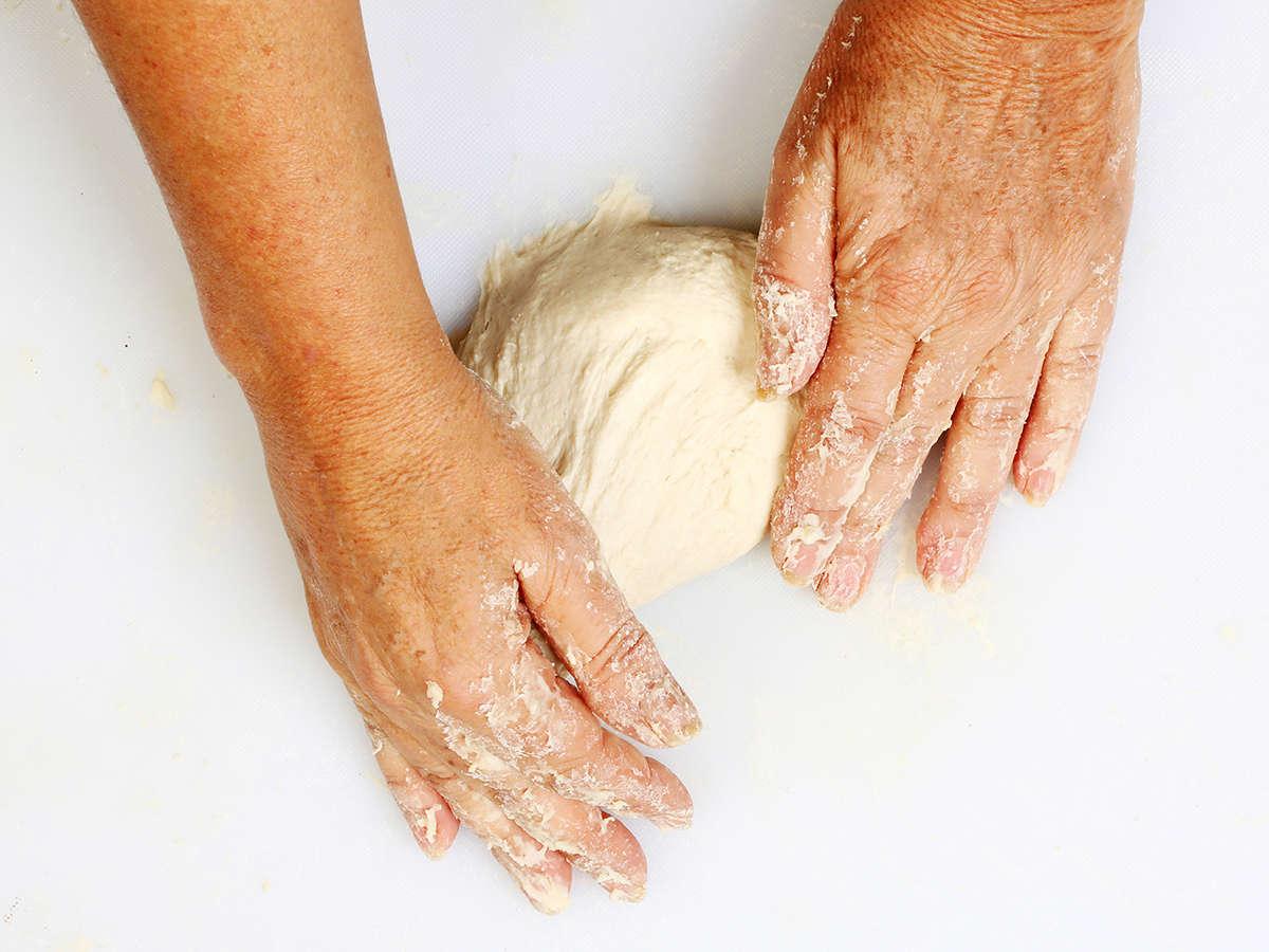 Shaping Buñuelo Dough