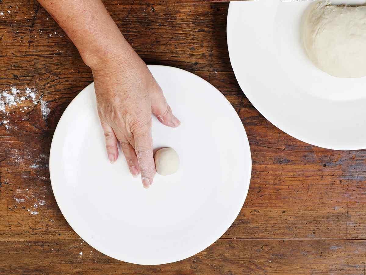 Rolling Buñuelo Dough