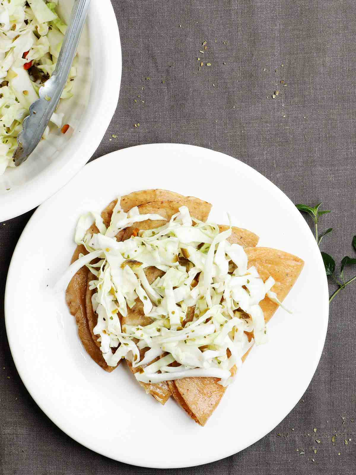 Vegetarian Tacos with Fresh Cheese